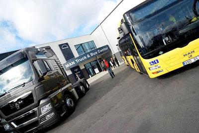 MAN Truck & Bus und Svenska NEOPLAN unter einem Dach