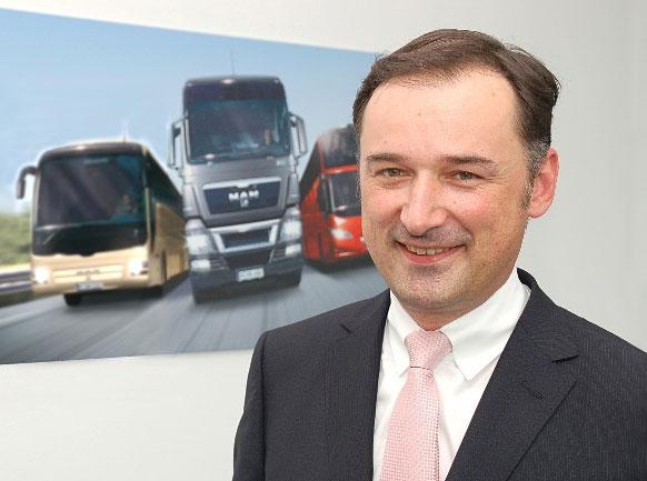 MAN Nutzfahrzeuge besetzt Vorstandsressort für Marketing, Sales & Services neu