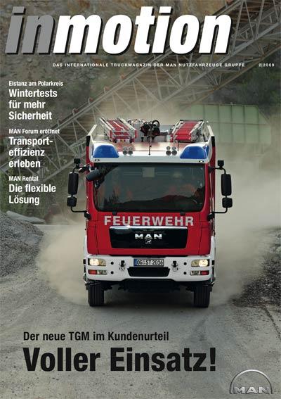 MAN Lkw-Kundenmagazin inmotion mit renommiertem Pearl Award ausgezeichnet