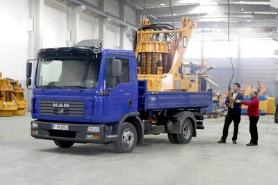 MAN präsentiert die Trucknology Generation® für die Baubranche