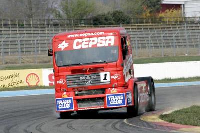 Höhere Drehzahl bei Truck Race 2007