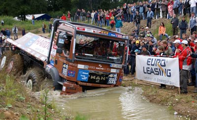 MAN-Erfolge bei den Europameisterschaften im Truck Trial und Truck Race
