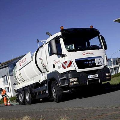 500 MAN Lastwagen für Veolia Propreté