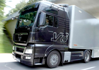 Der Gipfelstürmer: MAN TGX V8 - Stärkster Serien-Lkw in Europa mit 680 PS