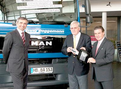Tiemann liefert 18.000sten MAN Lkw aus