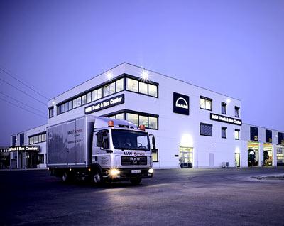 Eröffnung Truck Center München